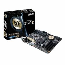 Asus Z170-K Intel Z170 USB3.1 SATA3 Socket 1151 DDR4 ATX Motherboard with HDMI, DVI and VGA