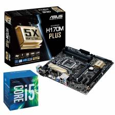 Intel Skylake i5 6600K and Asus H170M-PLUS - Socket 1151 Motherboard Bundle