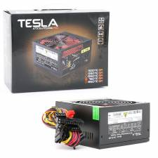 750Watt Black ATX PSU with 12cm Red Fan & PFC, Retail Box
