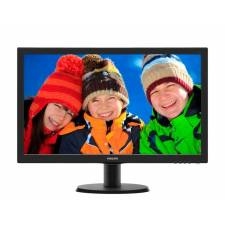 Philips 243V5LHAB 23.6 LED 1920x1080 VGA DVI HDMI HD Black Monitor