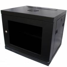 9U 450mm 19inch Data Comms Rack Wall Cabinet - Black