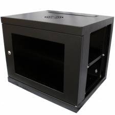 9U 550mm 19inch Data Comms Rack Wall Cabinet - Black
