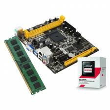 AMD AM1 Sempron Quad Core 1.30Ghz Starter Bundle with 4GB DDR3 Memory