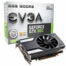 EVGA 2048MB GDDR5 GeForce GTX 960 SuperClock Dual DVI HDMI & DP PCI-E Retail 10YR Warranty