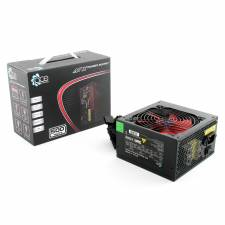 ACE 500Watt Black ATX PSU with 12cm Red Fan & PFC, Retail Box