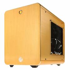 Raijintek Metis Mini-ITX Case - Gold Windowed