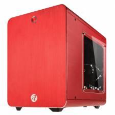 Raijintek Metis Mini-ITX Case - Red Windowed
