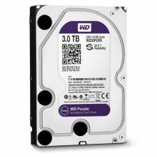 Western Digital Purple 3TB (3000GB) Surveillance SATA3 6Gb/s 64MB Cache HDD - OEM 3 Year Warranty