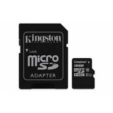 Kingston 16GB SDHC/SDXC Class 10 Micro SD & SD Adapter - Retail