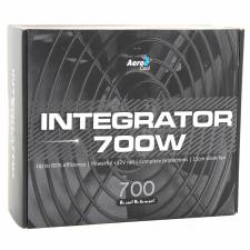 Aerocool 700W Integrator 85+ Certified Efficiency Power Supply, Retail Boxed