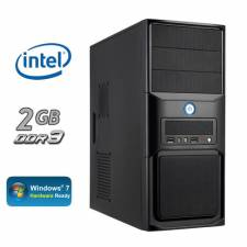 Intel Dual Core 2.7Ghz  - 4GB DDR3 1333MHz RAM - Intel Graphics - Intel H61 ATX Midi Tower Barebones System