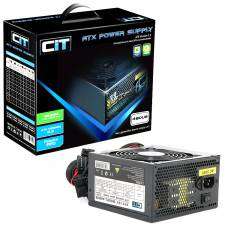 CIT 480Watt Black Silent 12cm Black Single 12V Rail , Retail Boxed