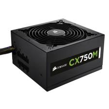 Corsair 750W CXM CX750M 80plus certified Hybrid Modular ATX12V V2.3 PSU, Retail
