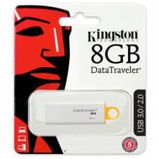 Kingston 8GB USB 3.0 DataTraveler G4 Flash Drive (DTIG4/8GB), Retail