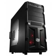Coolermaster K350 Black Midi Tower USB3.0 with Window, No PSU