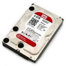 Western Digital Red 3TB (3000GB) SATA3 6Gb/s 64MB Cache NAS optimised 24x7 HDD - OEM 3 Year Warranty