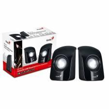 Genius SP-U115 Black Stereo USB Power Speakers, Retail