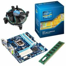 Intel 4th Gen Core i5 3.4GHz CPU - 8GB DDR3 1600MHZ RAM - Intel Chipset HDMI Motherboard Quad Core Bundle