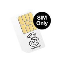 3 Pay As You Go Mobile Broadband Micro Sim (No Data)