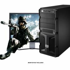 High Performance Gaming Barebones - Intel Haswell i5 3.2Ghz - Corsair 8GB DDR3 RAM - USB3.0, SATA6Gbs - Coolermaster K350 Case with 650Watt PSU
