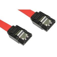 Straight SATA Plug to Straight SATA Plug Cable Lead 90cm - Locking Clip